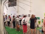 Vernissage à la galerie de La Salamandre